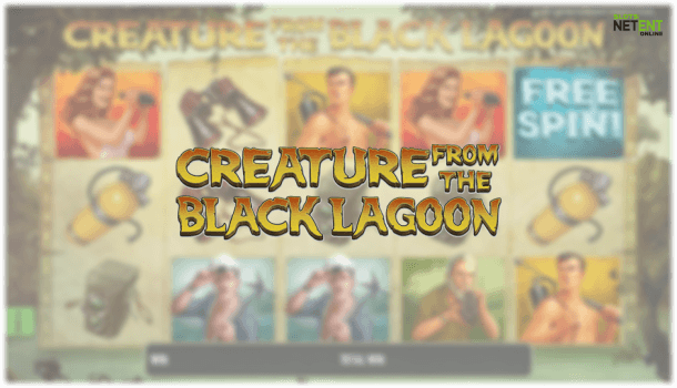 creature from black lagoon netent slot