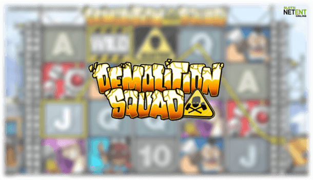 demolition squad netent slot