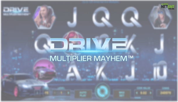 drive multiplier mayhem netent slot